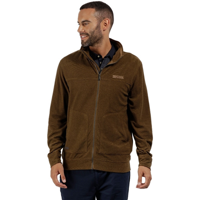 Regatta - Ultar III Dark Camel Mens Fleece  2018