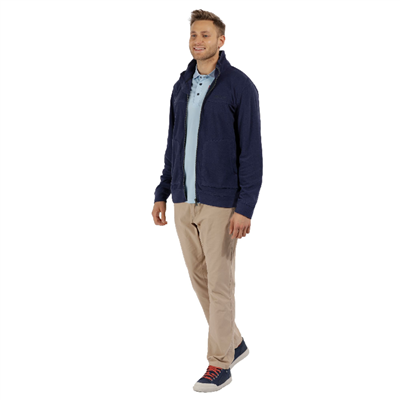 Regatta Ultar III Navy Mens Fleece  2018  - Click to view a larger image