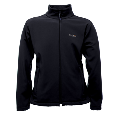 Regatta Cera III Mens Soft Shell Jacket Black 2018  - Click to view a larger image