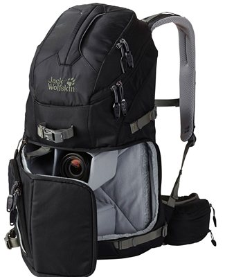 Jack Wolfskin ACS Photo Pack Pro Backpack   - Click to view a larger image