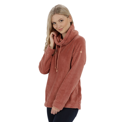 Regatta Hermina Womens Fleece Ash Rose 2018  - Click to view a larger image