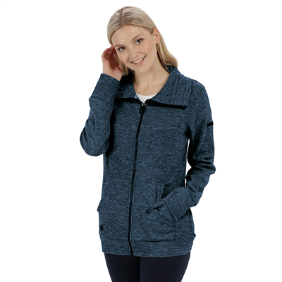 Regatta Elayna Womens Fleece Navy 2018  - Click to view a larger image