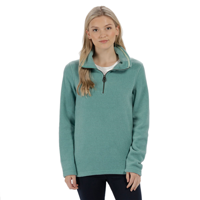 Regatta Solenne Womens Fleece Jade Green  2018  - Click to view a larger image