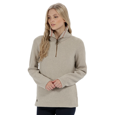 Regatta Solenne Womens Fleece Warm Beige 2018  - Click to view a larger image