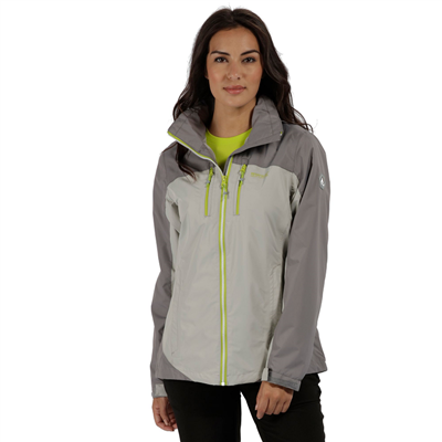 Regatta Calderdale II Womens Jacket Light Steel  2018  - Click to view a larger image