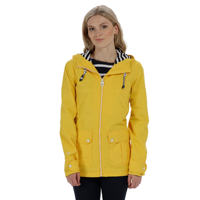 Regatta Bayeur II Womens Jacket Lifeguard Yellow 2018