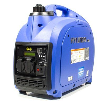 Hyundai 2000w Portable Petrol Inverter Generator   - Click to view a larger image