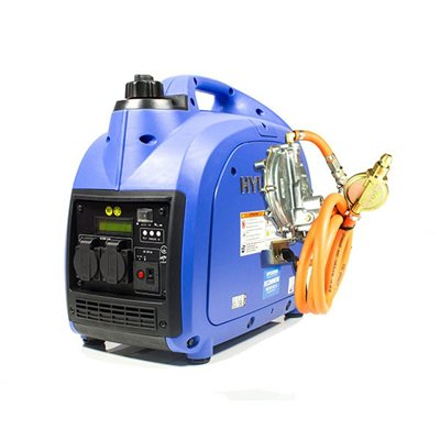Hyundai 2000w Portable Petrol Inverter Generator LPG  - Click to view a larger image