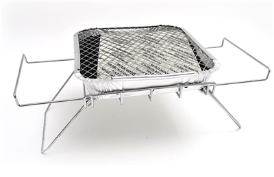 Bar Be Quick Disposable BBQ Stand  - Click to view a larger image