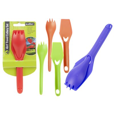 Summit 4 in1 Travel Cutlery Set 2018  - Click to view a larger image