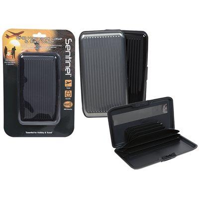 Summit RFID Hard Shell Cash & Card Wallet 2018  - Klicken Sie hier, um ein größeres Bild zu sehen