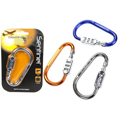 Summit - 3 Dial Carabiner Lock 2018