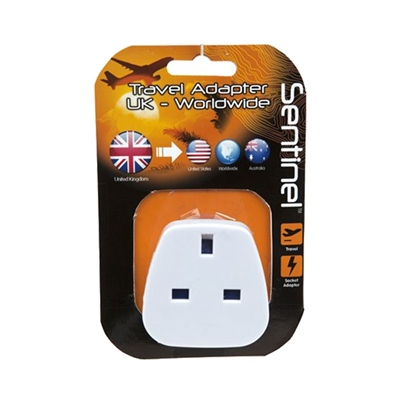 Summit UK - USA/AUS Travel Adaptor Plug 2018  - Click to view a larger image