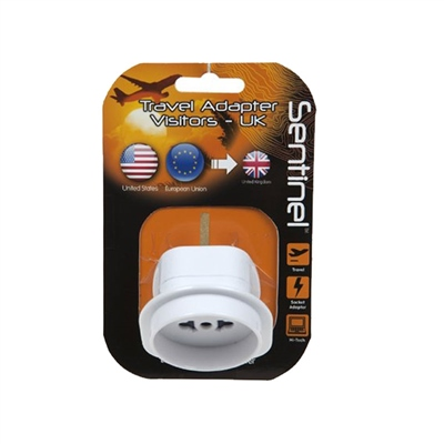Summit USA/Europe to UK Travel Adaptor Plug 2018  - Click to view a larger image