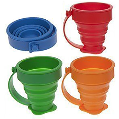 Summit Pop! 4 Piece Folding Cup Set 2018  - Click to view a larger image