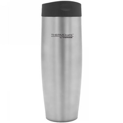 Thermos  ThermoCafe Push Button Travel Tumbler 420ml   - Click to view a larger image