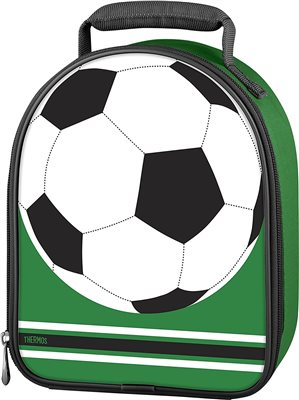 Thermos  Insulated Lunch Bag - Football  - Click to view a larger image
