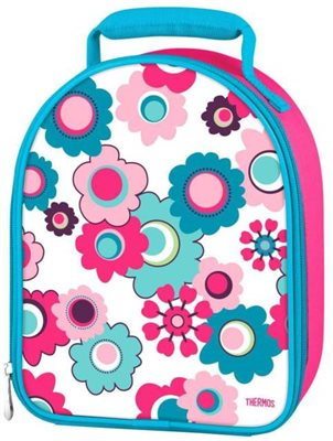 Thermos  Insulated Lunch Bag - Floral  - Click to view a larger image