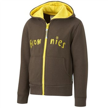 David Luke Brownie Hooded Zipper