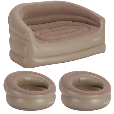 Vango Inflatable Sofa and Deluxe Chair Set  - Click to view a larger image
