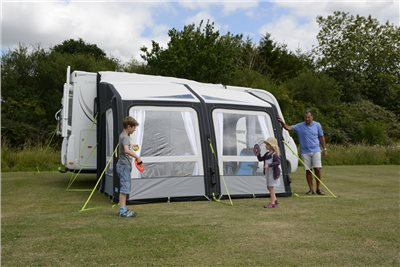 Kampa Motor Rally Air Pro 330 Motorhome Awning 2019   - Click to view a larger image