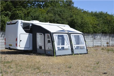 Kampa Motor Grande AIR Pro 390 Motorhome Awning 2019   - Click to view a larger image