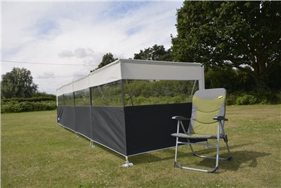 Kampa Dometic Pro Windbreak 5 Panel 2020  - Click to view a larger image