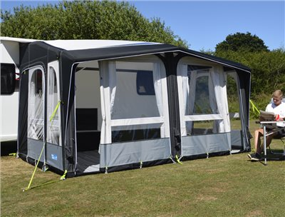 Kampa Club Air PRO 390 Caravan Awning 2019  - Click to view a larger image