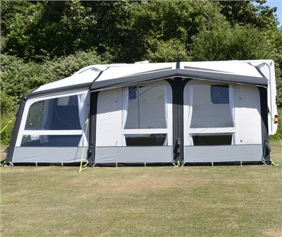Kampa Club Air Pro 390 Plus Caravan Awning 2019   - Click to view a larger image
