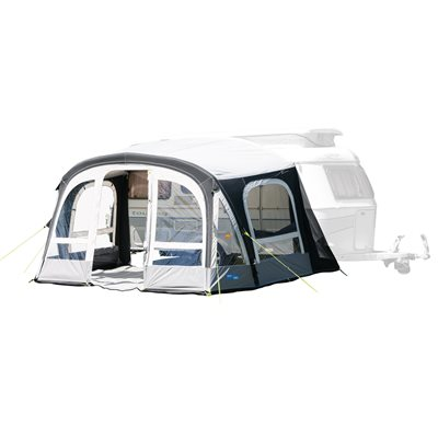 Kampa Dometic Pop Pro Air 365 Caravan Awning 2020 Shown with optional Annexe. - Click to view a larger image