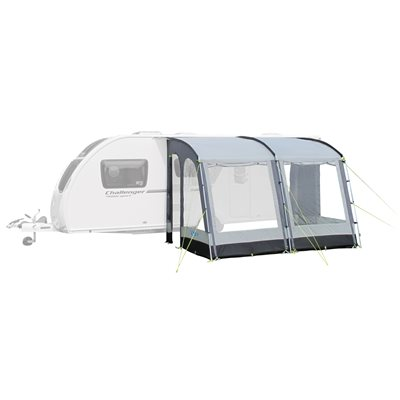 Kampa Rally 330 Pearl Grey Caravan Awning 2019   - Click to view a larger image
