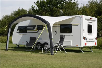 Kampa Sunshine AIR Pro 400 Caravan Awning 2019   - Click to view a larger image