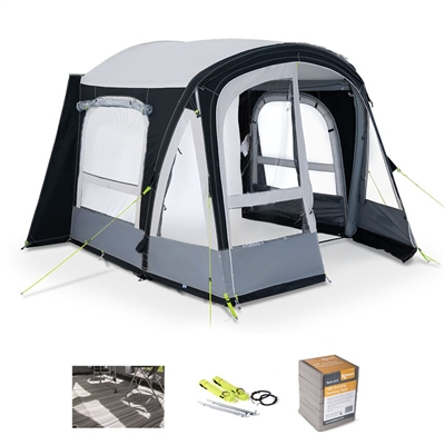 Kampa Dometic Pop AIR Pro 260 Caravan Awning Package Deal 2020  - Click to view a larger image