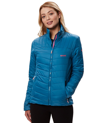 Regatta Icebound III Womens Jacket Moroccan Blue 2018  - Click to view a larger image