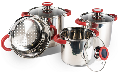 Kampa Space Saver Deluxe Cook Set   - Click to view a larger image