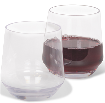 Kampa Soho Tumbler/Stemless Wine Glass    - Click to view a larger image