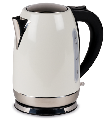 Kampa - Stainless Steel Cream Electric Kettle 2019