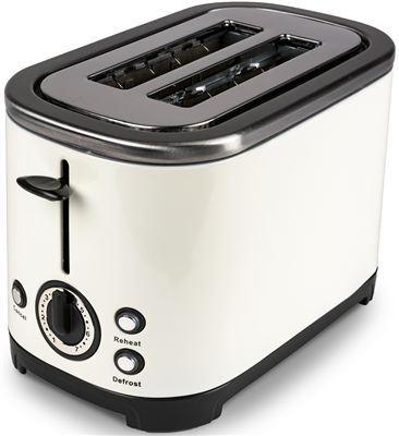 Kampa Stainless Steel Cream Electric Toaster   - Click to view a larger image