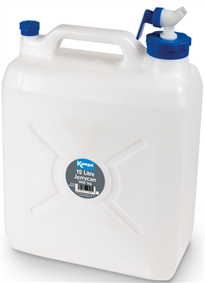 Kampa Jerrycan Water Carrier with Tap 2019  - Click to view a larger image