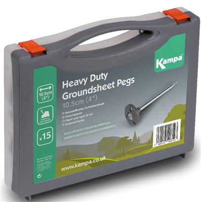 Kampa Heavy Duty Groundsheet Peg Pack 2019  - Click to view a larger image