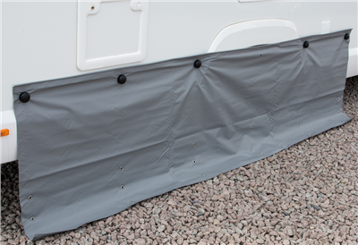 Kampa Dual Fix Draught Skirt 70cm Drop with Limpets   - Click to view a larger image
