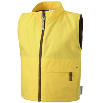 David Luke Brownie Gilet Yellow  - Click to view a larger image