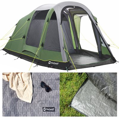 Outwell Reddick 4A Air Tent Package Deal 2019  - Click to view a larger image