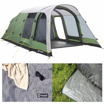 Outwell Broadlands 5A Air Tent Package Deal 2019  - Click to view a larger image