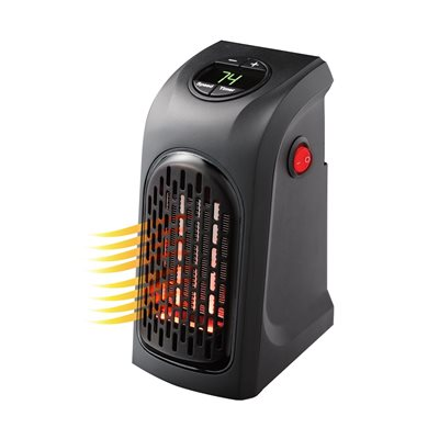 Handy Heater Portable Outlet Space Heater  - Click to view a larger image