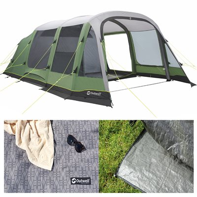 Outwell Chatham 6A Air Tent Package Deal 2019  - Click to view a larger image