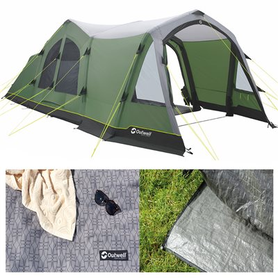 Outwell Middleton 5A Air Tent Package Deal 2019  - Click to view a larger image
