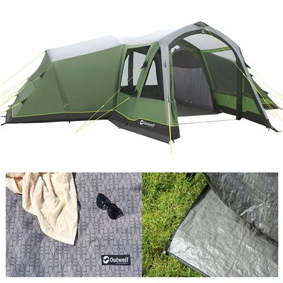 Outwell Middleton 8A Air Tent Package Deal 2019  - Click to view a larger image