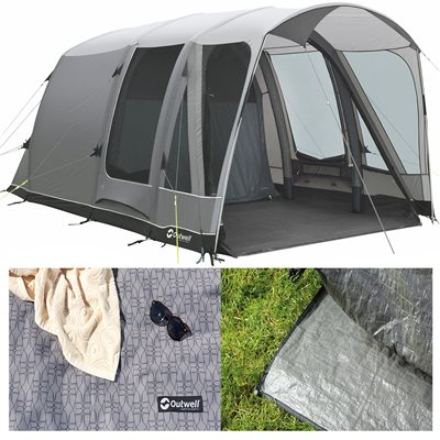Outwell Mayville 3SA Air Tent Package Deal 2019  - Click to view a larger image