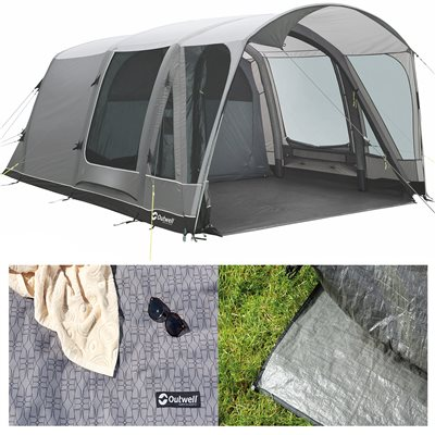 Outwell Mayville 5SA Air Tent Package Deal 2019  - Click to view a larger image